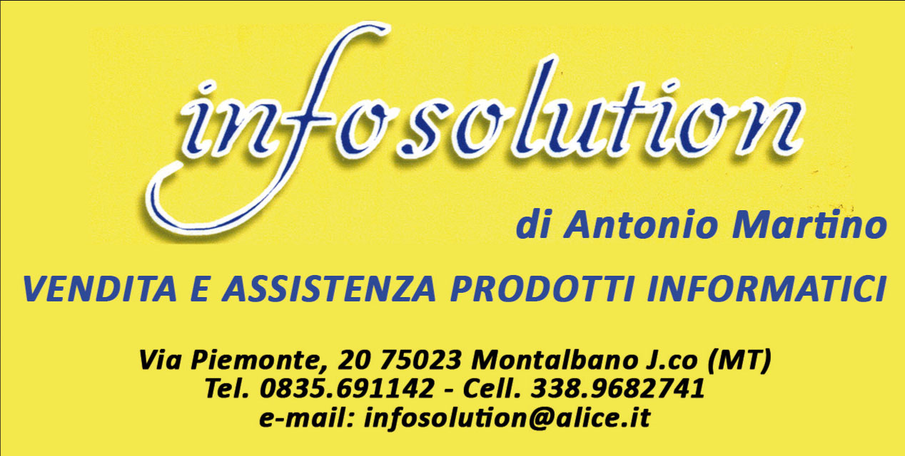MONTALBANO - Infosolution